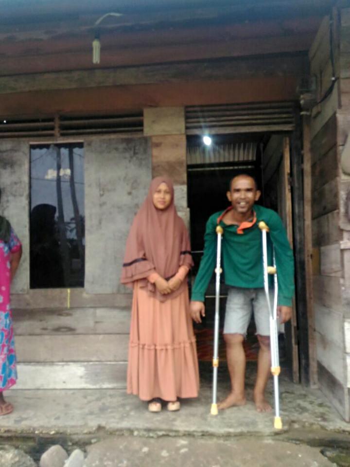 LPD Aceh Timur Menyerahkan Tongkat Untuk Pak. Fachrurrazi, Aceh Timur