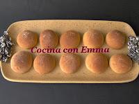 Panecillos de chocolate blanco