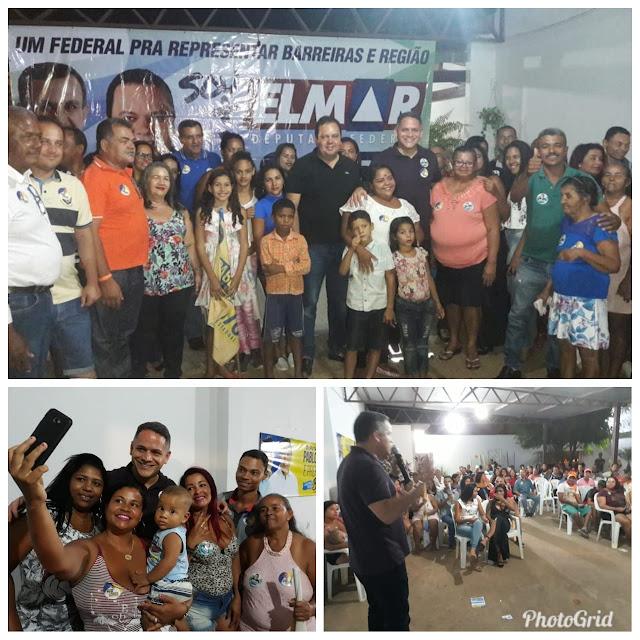 Ao lado de Zito, Pablo Barrozo reúne lideranças em Barreiras e fortalece candidatura