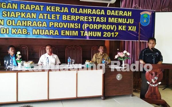Kabupaten OKI Siap Hadapi Porpov Sumsel 2017