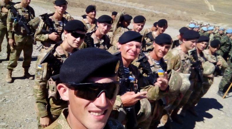 Agile Spirit 2016 Ukrainian marines