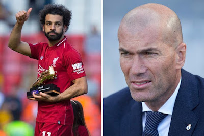 Zinadine Zidane Wants Salah for Real Madrid
