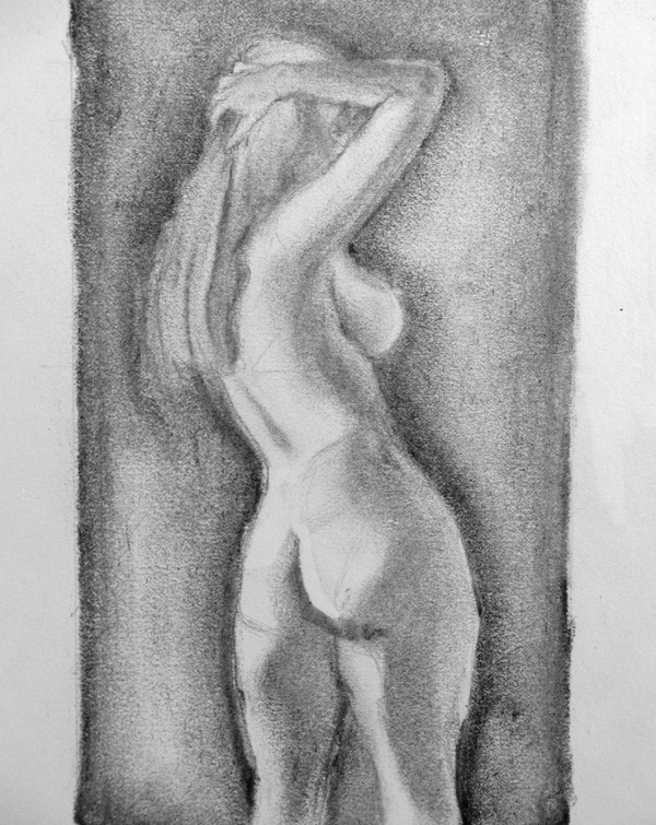 Naked Lady To Draw 47