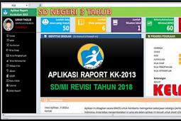 Aplikasi Cetak Raport K13 Kelas 5 Semester 2 Revisi 2018