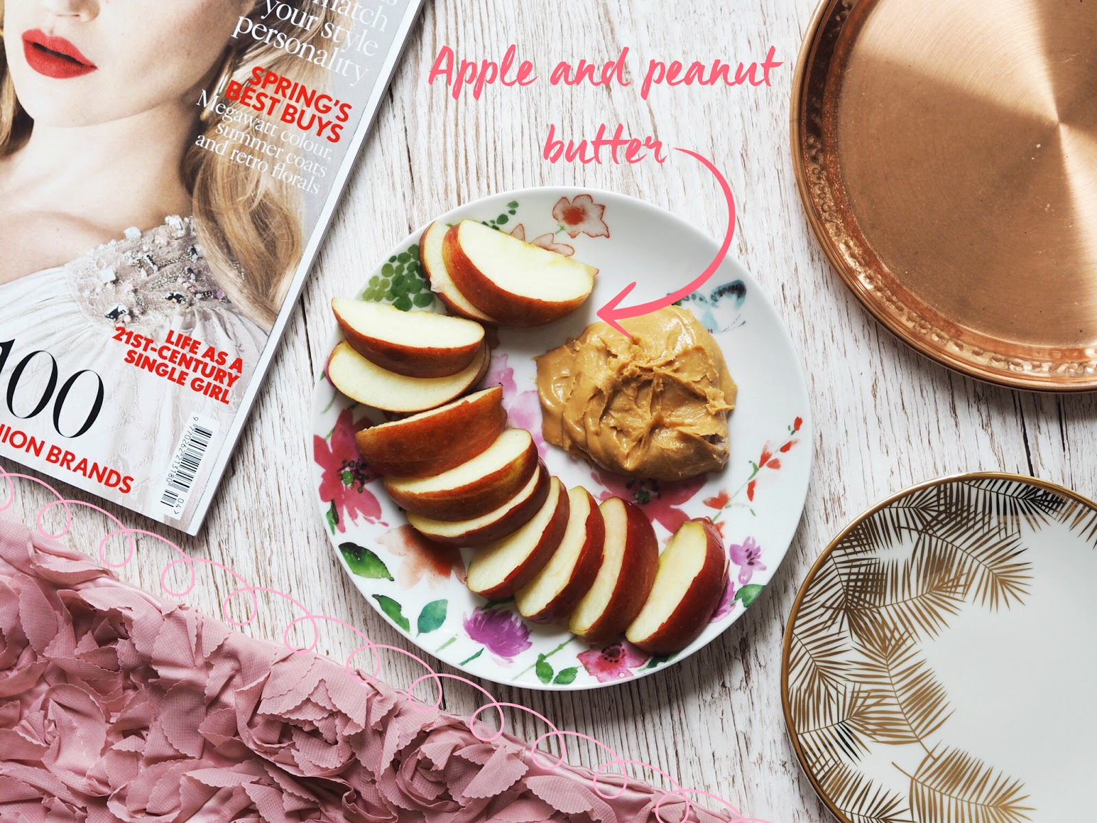 apple peanut butter vegan snack ideas quick and easy healthy food bloggers flatly