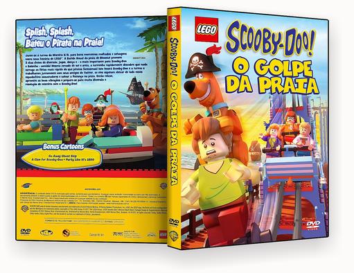 Lego Scooby Doo! O Golpe Da Praia DVD-R OFICIAL