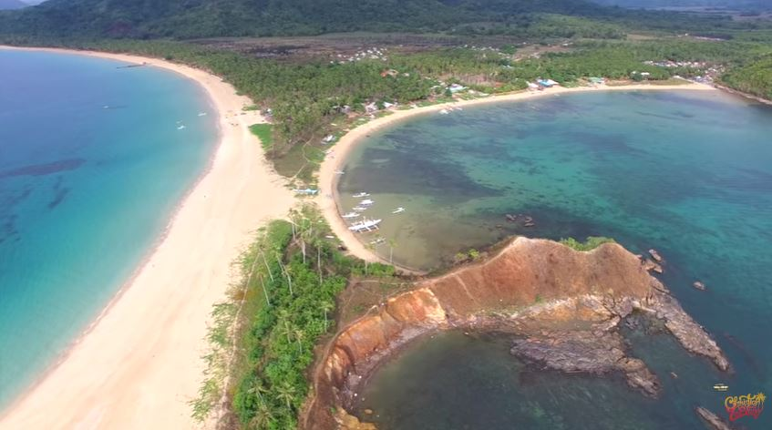 "Nacpan beach in Palawan as ""world's most beautiful beach"""