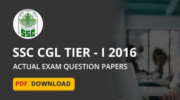 Ssc Cgl Previous Papers Pdf