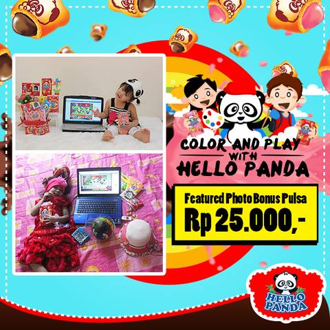 Pemenang Featured Photo Color And Play Hello Panda