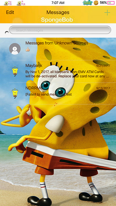 Oppo Theme: Oppo F3|F3 Plus Spongebob Theme