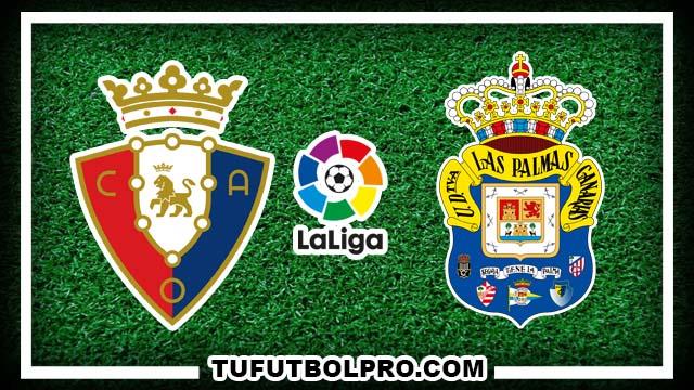 Ver Osasuna vs Las Palmas EN VIVO Por Internet Hoy 1 de Octubre 2016