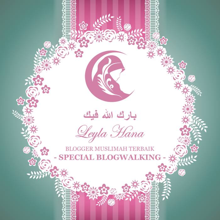 Award from Blogger Muslimah