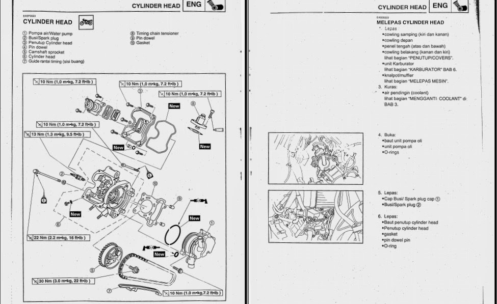 SAMBERMATA: Manual Book Yamaha