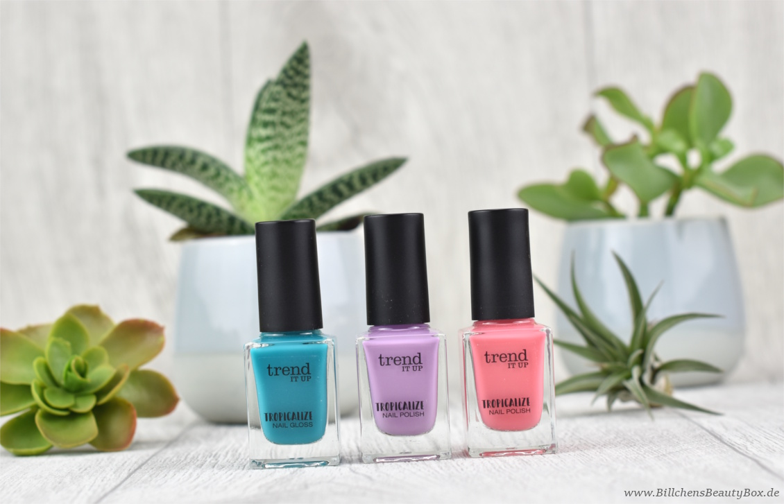trend IT UP - Tropicalize Limited Edition - Review Nagellack & Nail Gloss
