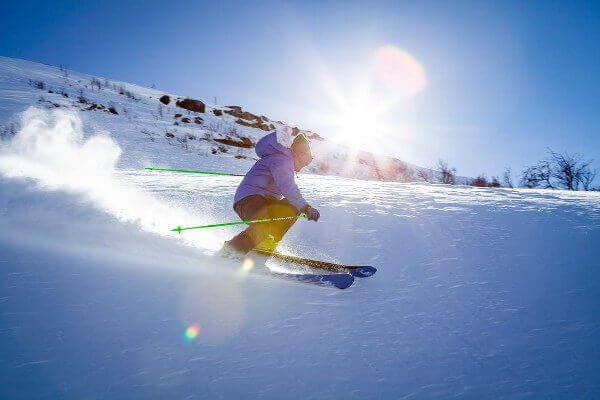 I want to go to an adventure skiing