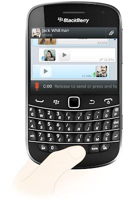 WhatsApp Messenger introduces Voice Messages for BlackBerry
