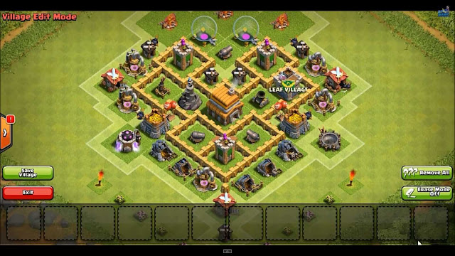 Layout: Dragons Head by CoC Base Wizard