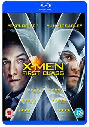 X-Men First Class 2011 BRRip 400MB Hindi Dual Audio 480p Watch Online Full Movie Download bolly4u