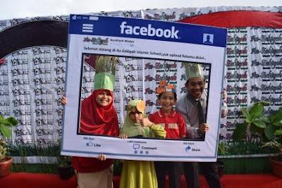 peringatan hari gizi nasional di Azzakiyah Islamic School, oleh massanto.NET | Guru blogger