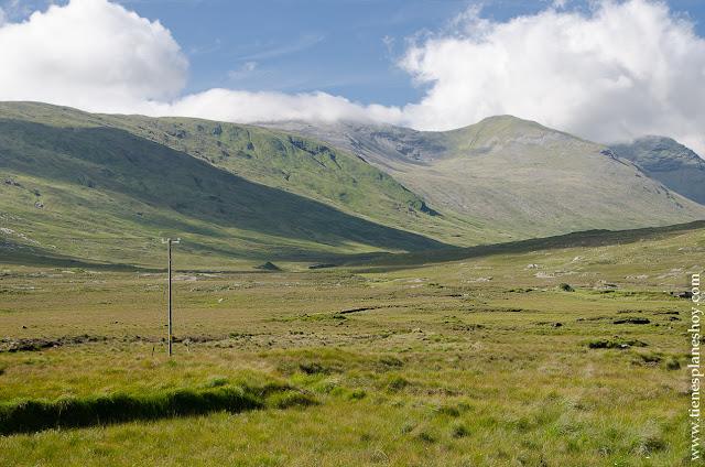 Valle del Inagh Connemara Condado de Galway Irlanda