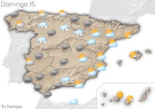 Foto de Canarias abajo de Baleares