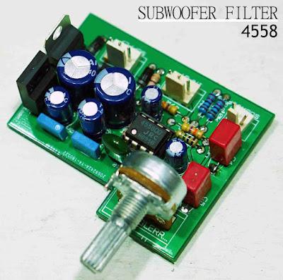 Subwoofer filter 4558
