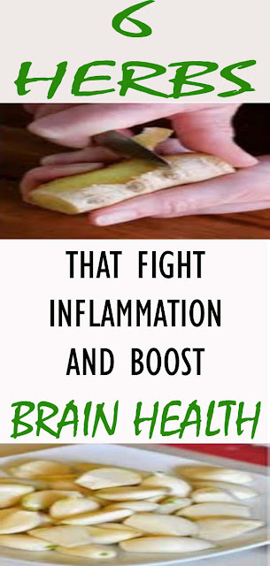 These Six Herbs Can Help You Fight Inflammation And Boost Brain Health#naturalremedies