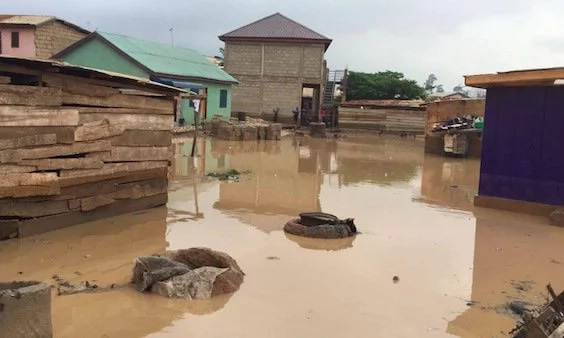Family of six swept away by floods at Kumasi