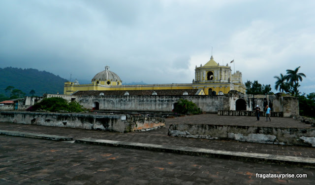 Ruínas do Convento de La Merced, Antigua, Guatemala