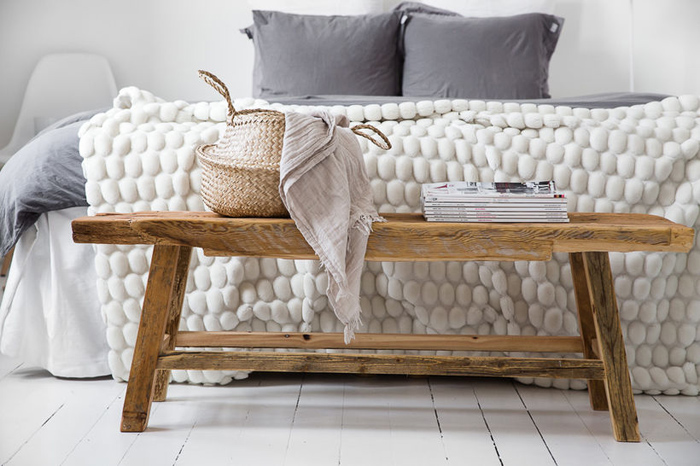 Ideas how to use bench in your home.