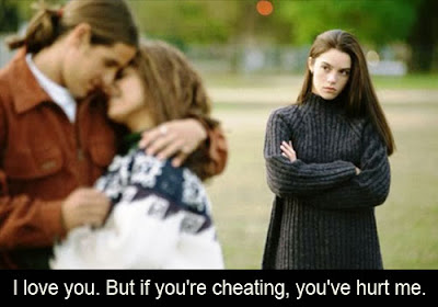 Cheating partner