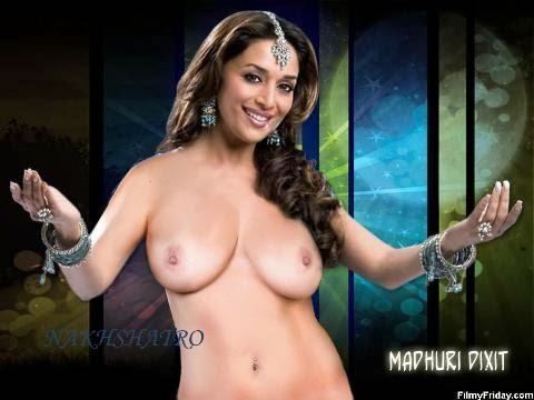 Madhuri dixit big boobs nude