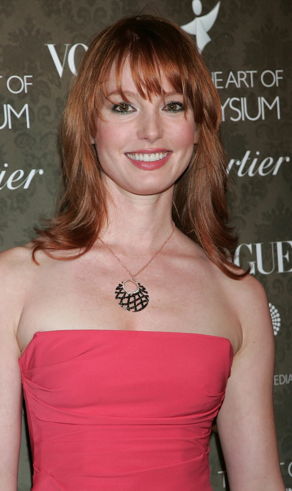 Alicia Witt Sexy Cleavage Cute HQ Photos at Art Of Elysium ...