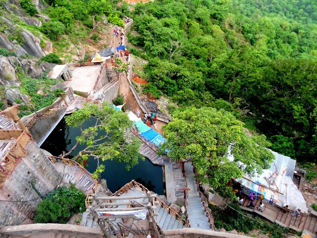Water Storage at Parshuram- Mahadev, Udaipur, India