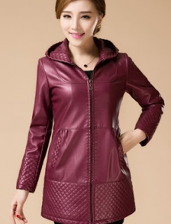 4200 Model Jaket Kulit Wanita Berhijab Terbaik