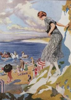Sea bathing - 1925