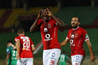 يلتقي اليوم فريق الاهلي مع نظيره مصر المقاصة في الدوري المصري