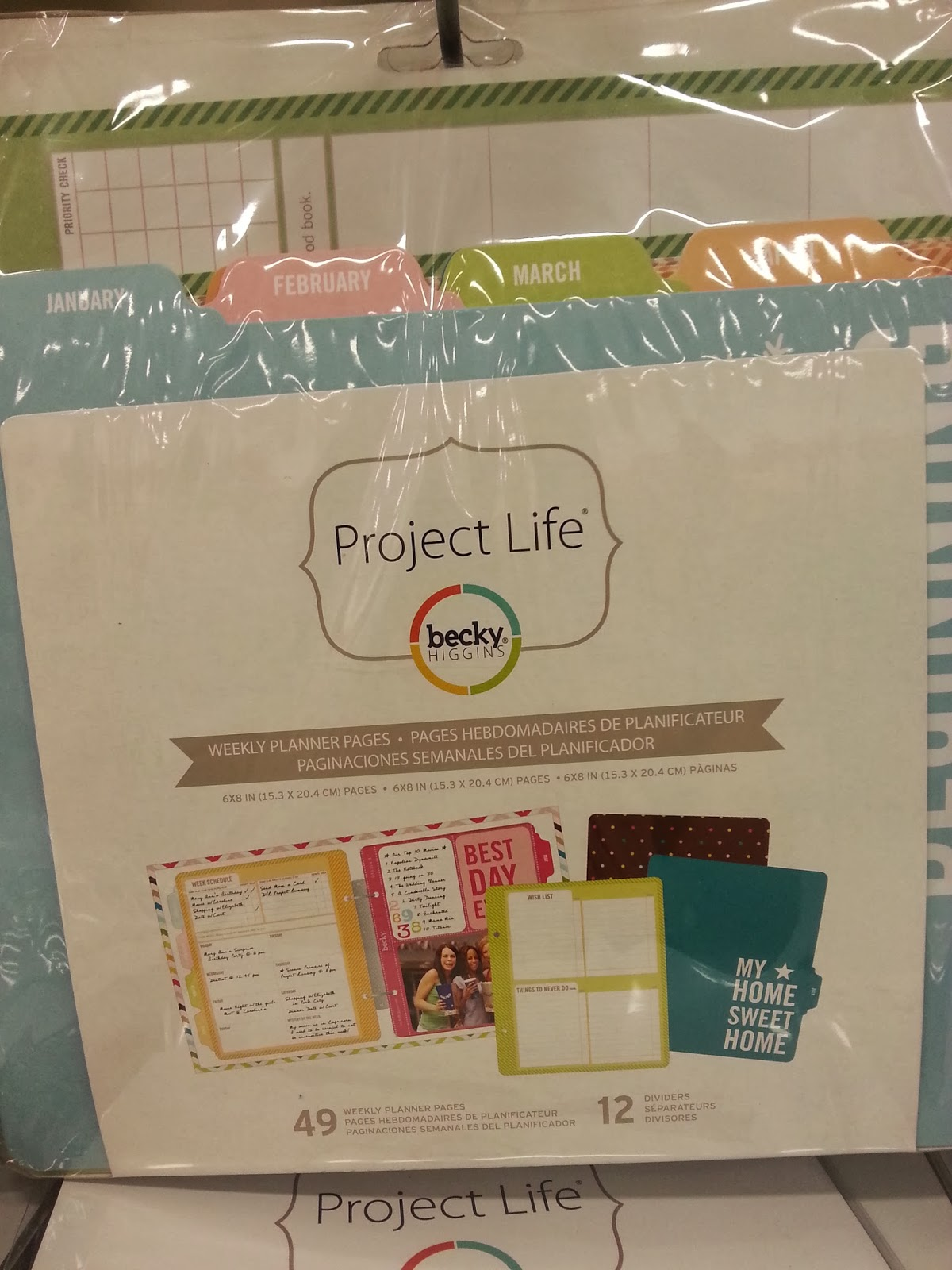 Scrapbooking Products: New Project Life & Valentine's Day Stuff at