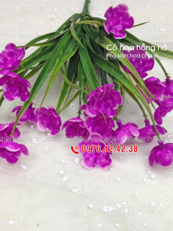 Cỏ hoa hồng nở | Phụ kiện hoa pha lê