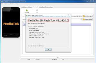 Download Mediatek SP Flash Tool v5.1420.00