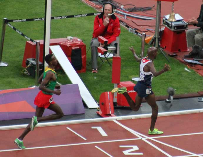 London Olympics 2012 #3: Mo Farah wins the 5000m