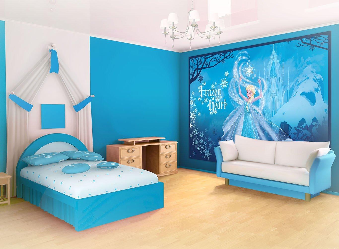 15 Desain Kamar Anak Perempuan Frozen 02