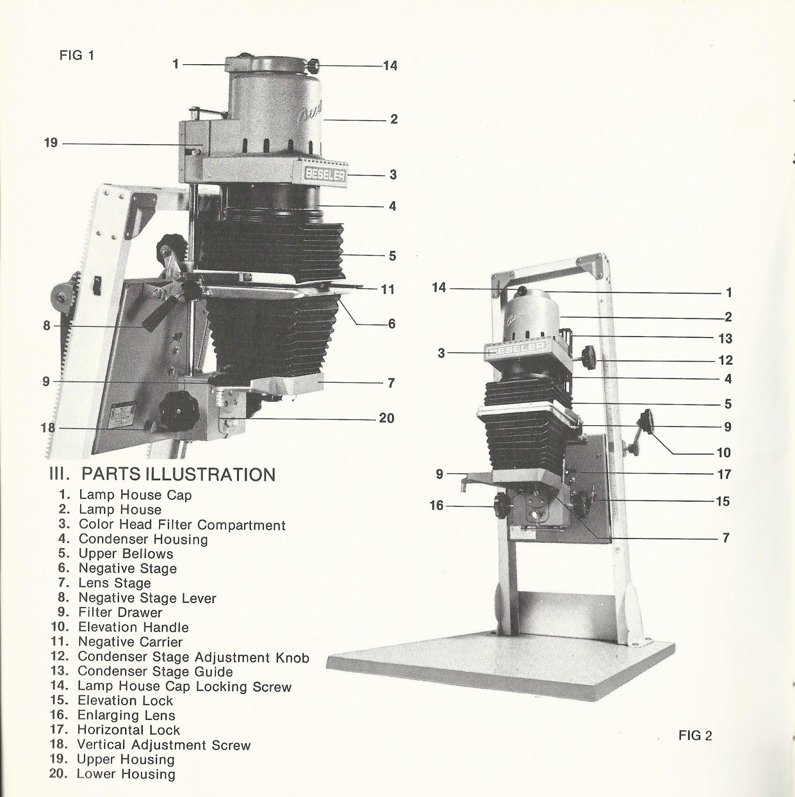 condenser adjustment knob