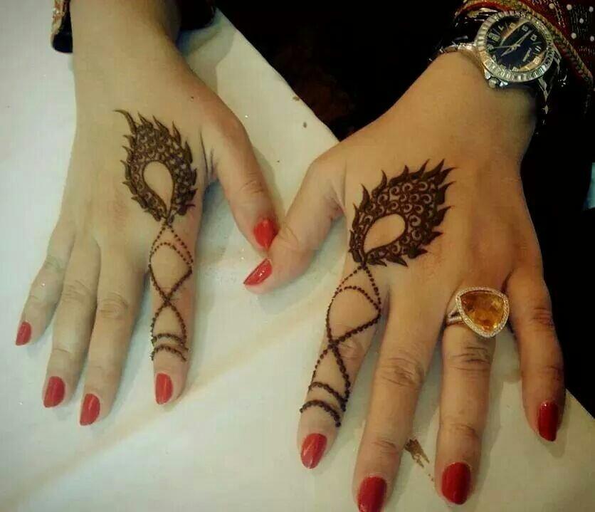 10 Latest Finger Mehndi Design Ideas For Eid Bling Sparkle