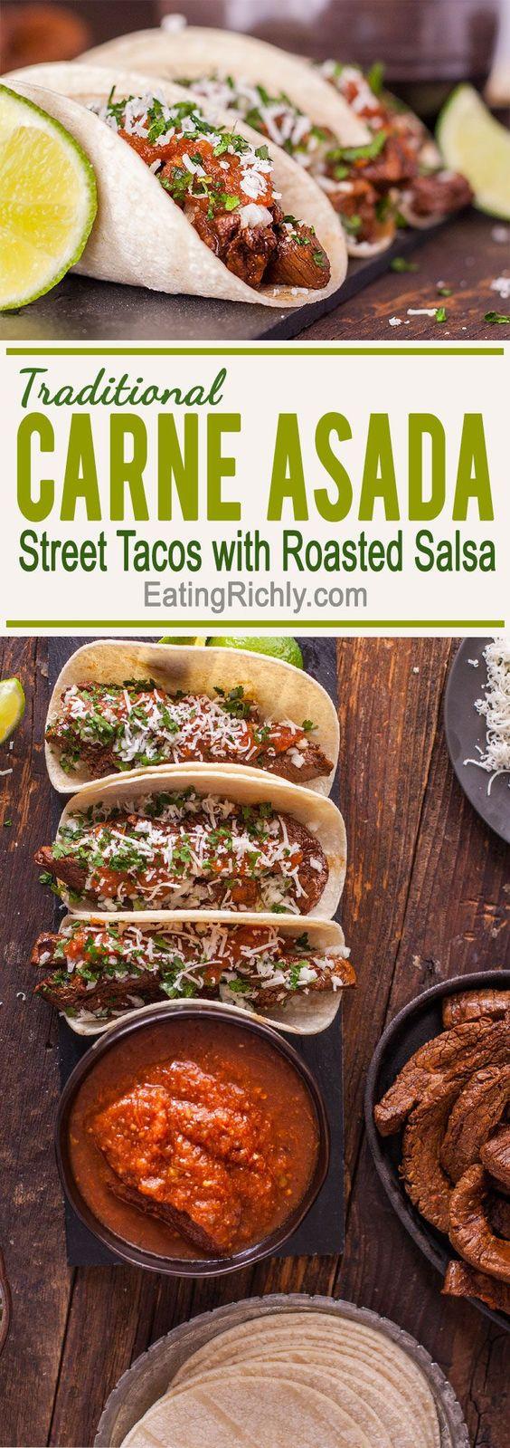 Carne Asada Traditional Taco Recipe