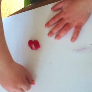 Your preschooler will love making her mark this whimsical art activity.