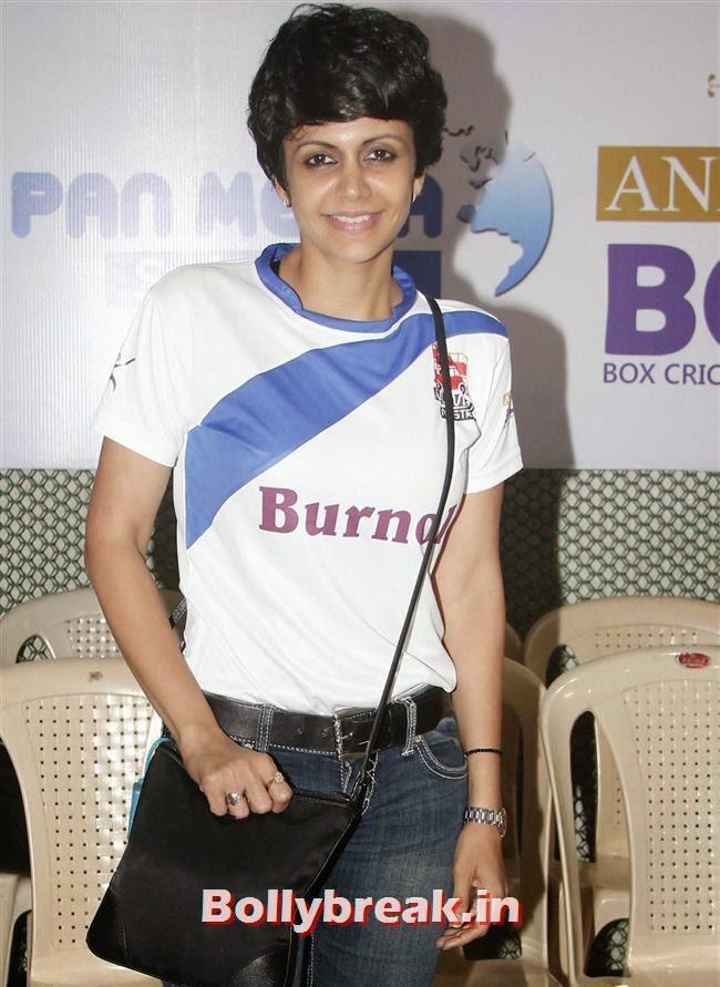 Mandira Bedi, Krystle D'Souza, Mandira Bedi at BCL Inaugural Match