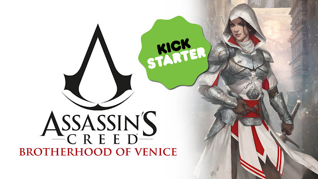 assassins creed brotherhood of venice board game kickstarter