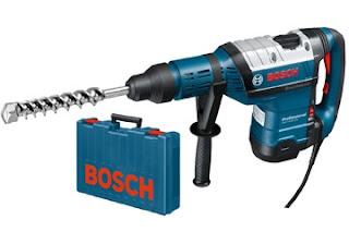 Máy khoan búa Bosch dùng mũi SDS Max GBH 8-45 D