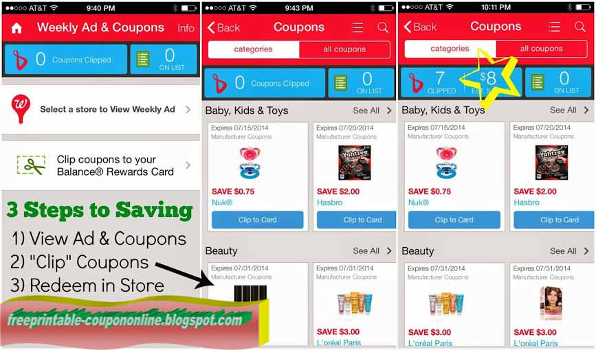 Walgreens in store photo printing coupon